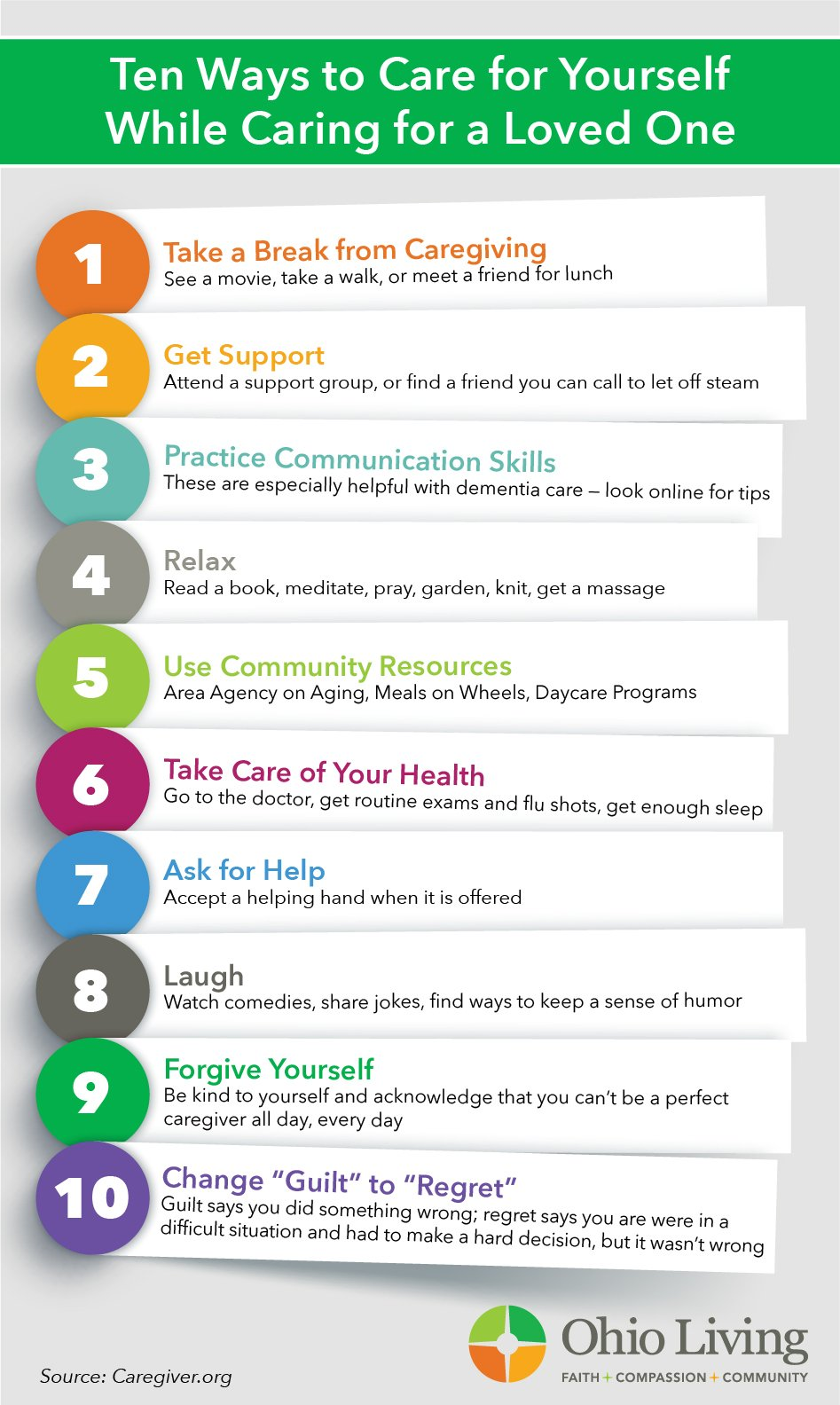 10 Ways to Care for Yourself