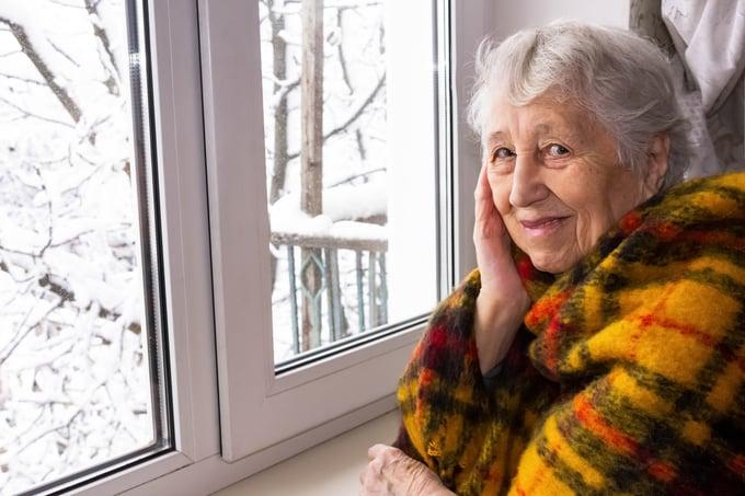 11-30 - Woman in Winter