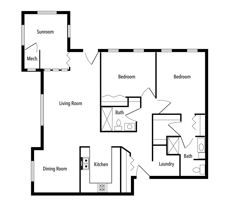 Brownstone Floor Plan